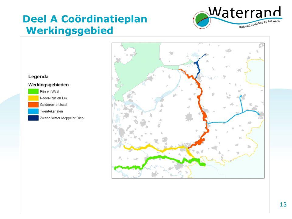 Deel A Coördinatieplan Werkingsgebied