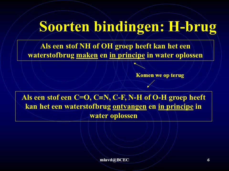 Soorten bindingen: H-brug