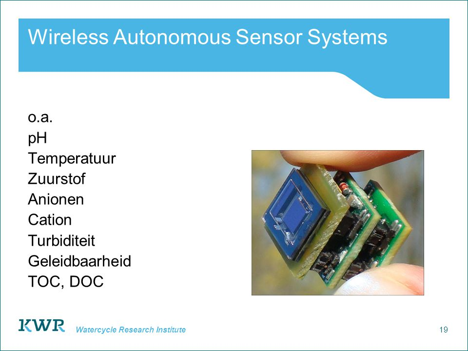 Wireless Autonomous Sensor Systems