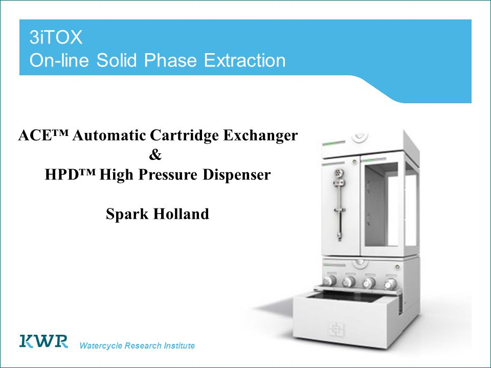 3iTOX On-line Solid Phase Extraction