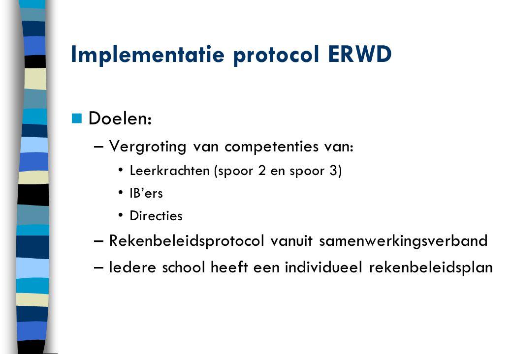 Implementatie protocol ERWD
