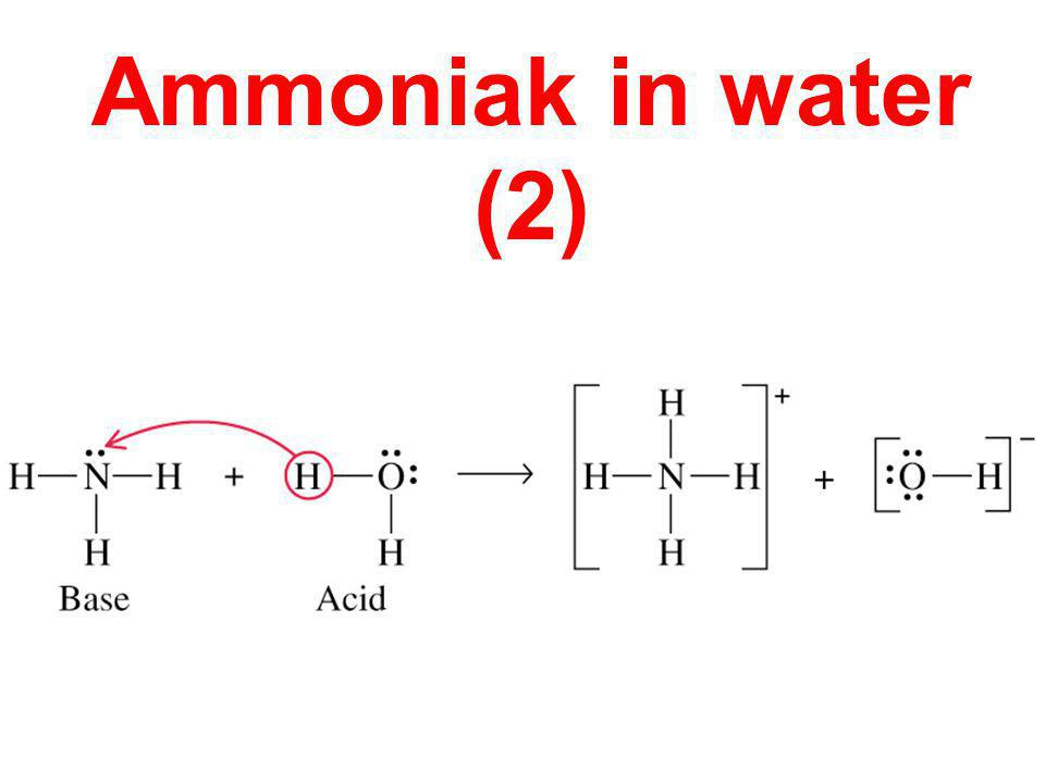 Ammoniak in water (2)