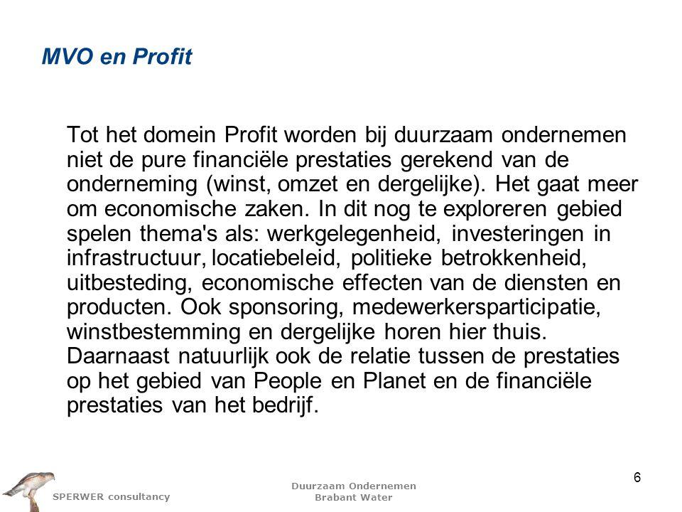 MVO en Profit