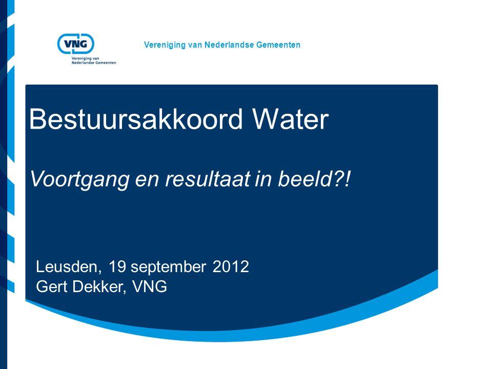 Bestuursakkoord Water