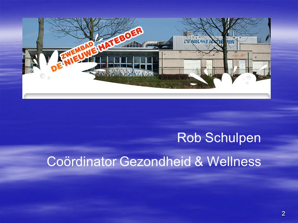 Coördinator Gezondheid & Wellness
