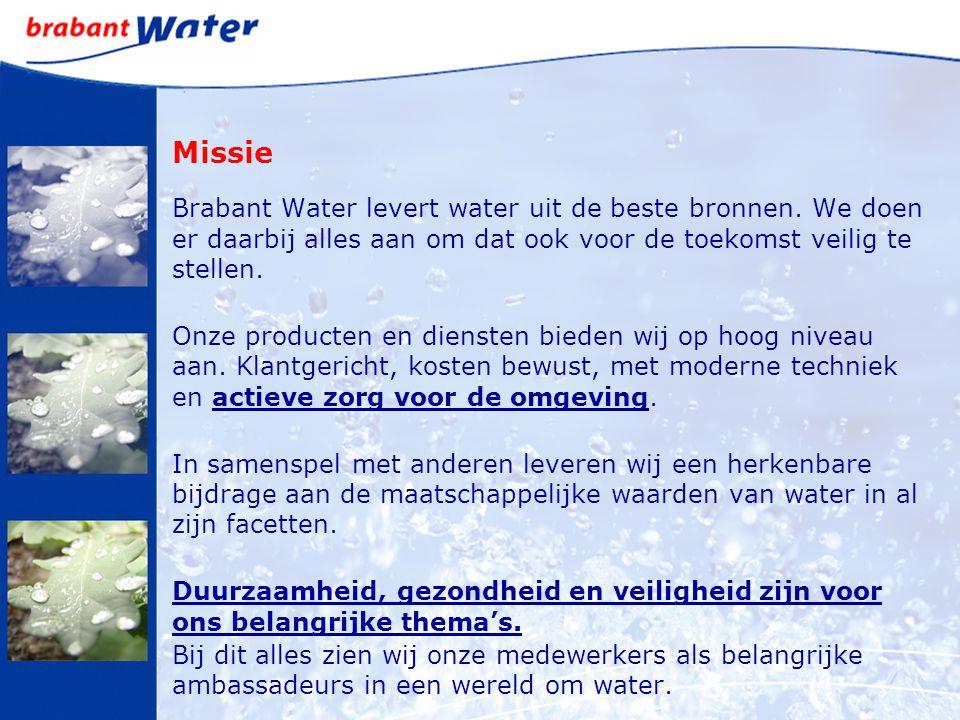 Missie Brabant Water levert water uit de beste bronnen. We doen er daarbij alles aan om dat ook voor de toekomst veilig te stellen.