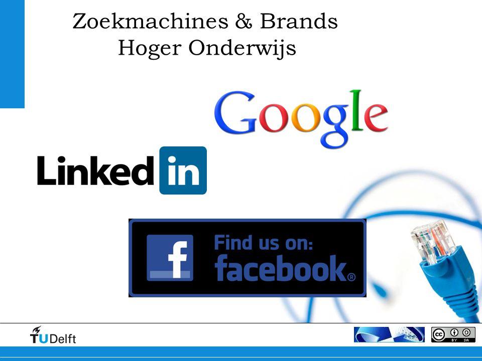 Zoekmachines & Brands Hoger Onderwijs