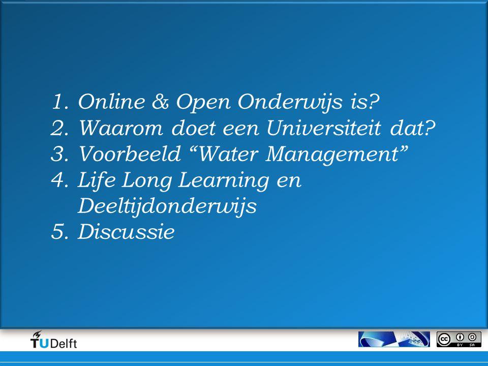 Online & Open Onderwijs is