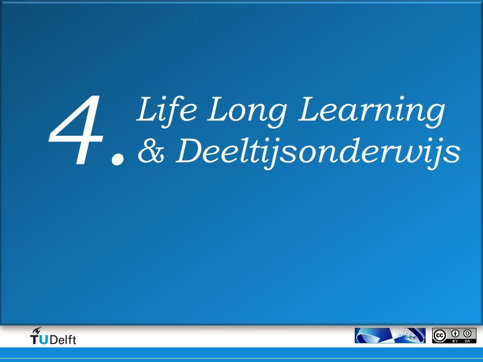 4. Life Long Learning & Deeltijsonderwijs