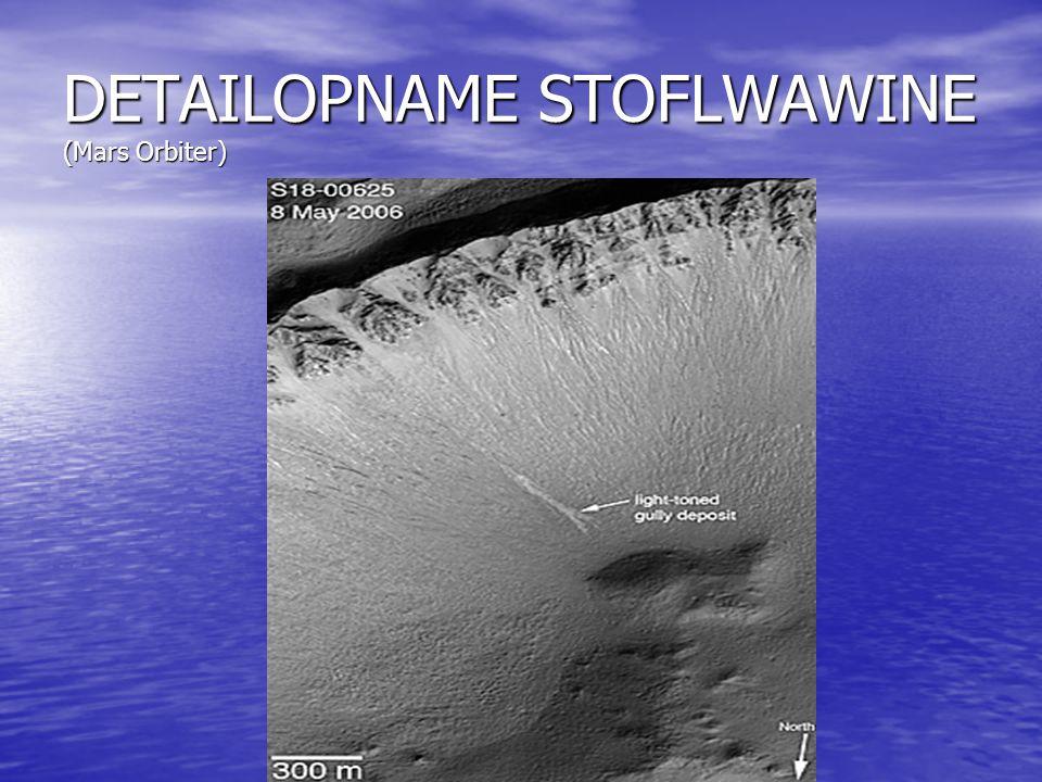 DETAILOPNAME STOFLWAWINE (Mars Orbiter)