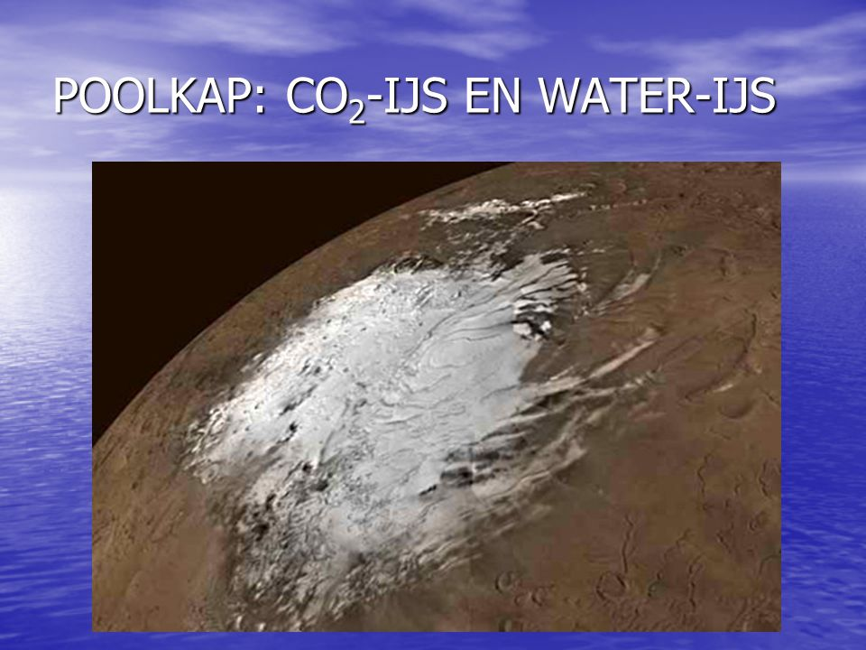 POOLKAP: CO2-IJS EN WATER-IJS