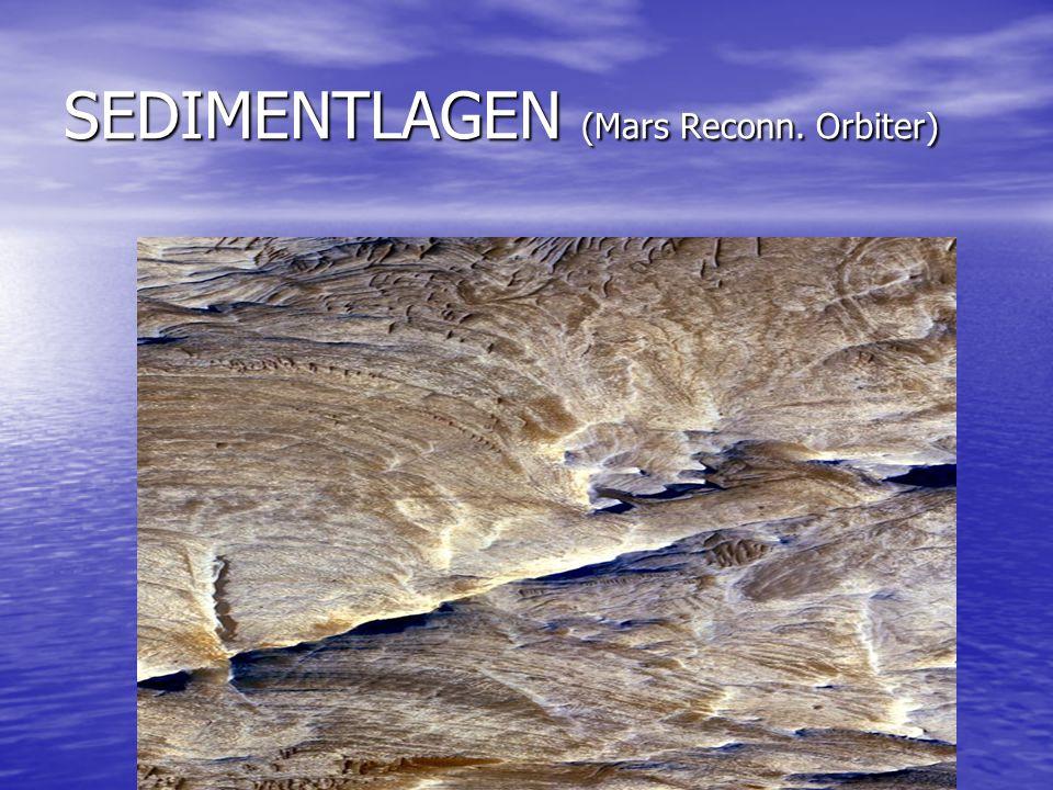 SEDIMENTLAGEN (Mars Reconn. Orbiter)