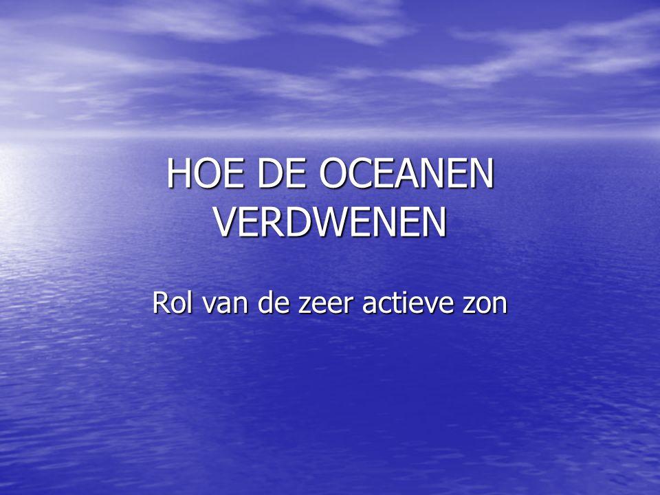 HOE DE OCEANEN VERDWENEN