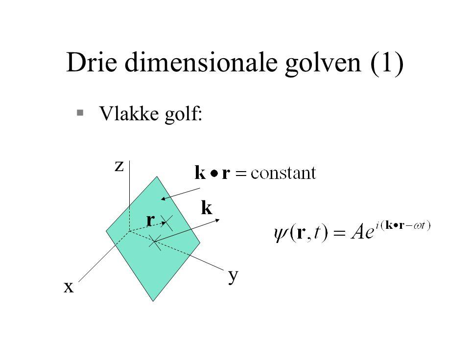 Drie dimensionale golven (1)