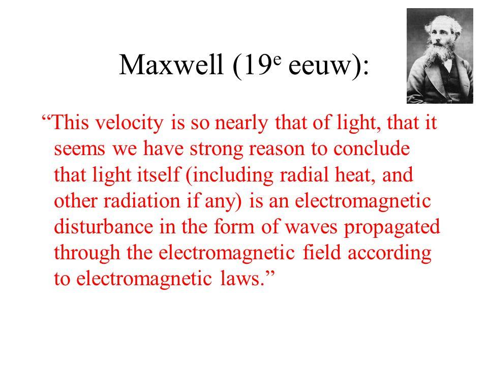 Maxwell (19e eeuw):