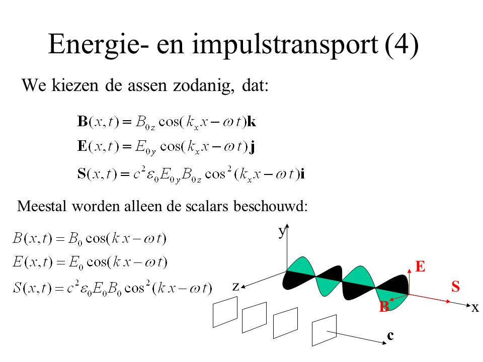Energie- en impulstransport (4)