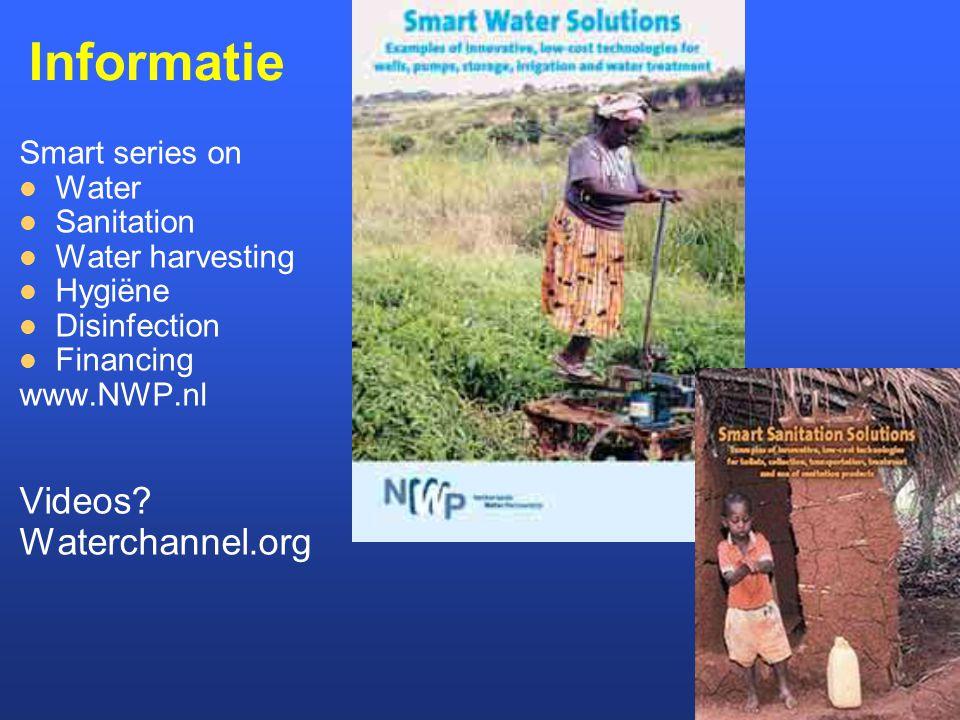 Informatie Videos Waterchannel.org Smart series on Water Sanitation