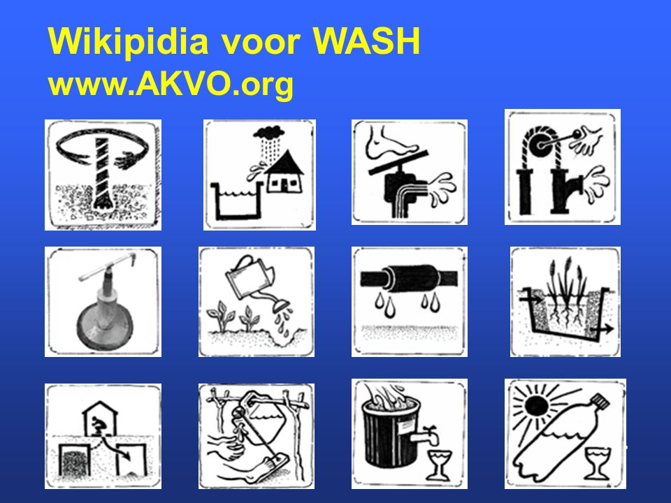 Wikipidia voor WASH www.AKVO.org