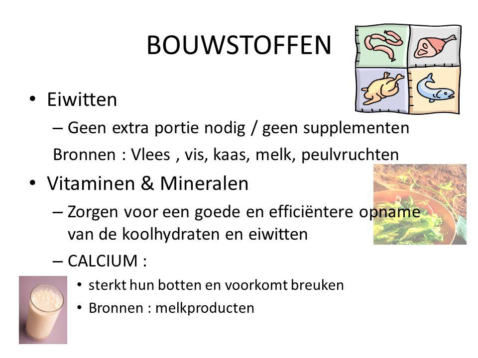 BOUWSTOFFEN Eiwitten Vitaminen & Mineralen