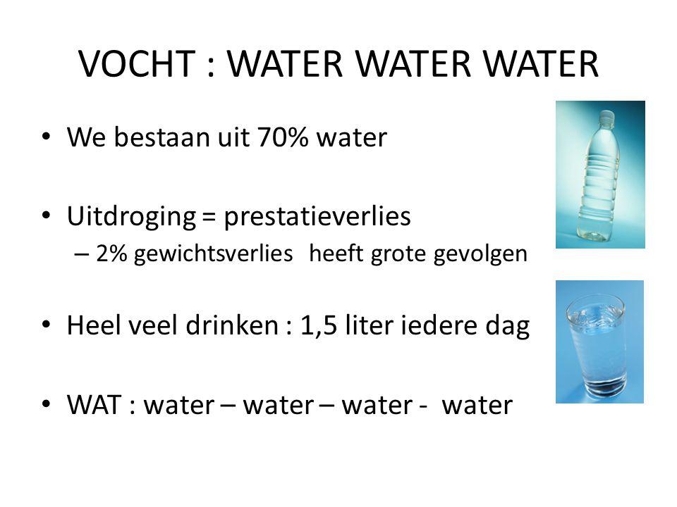 VOCHT : WATER WATER WATER