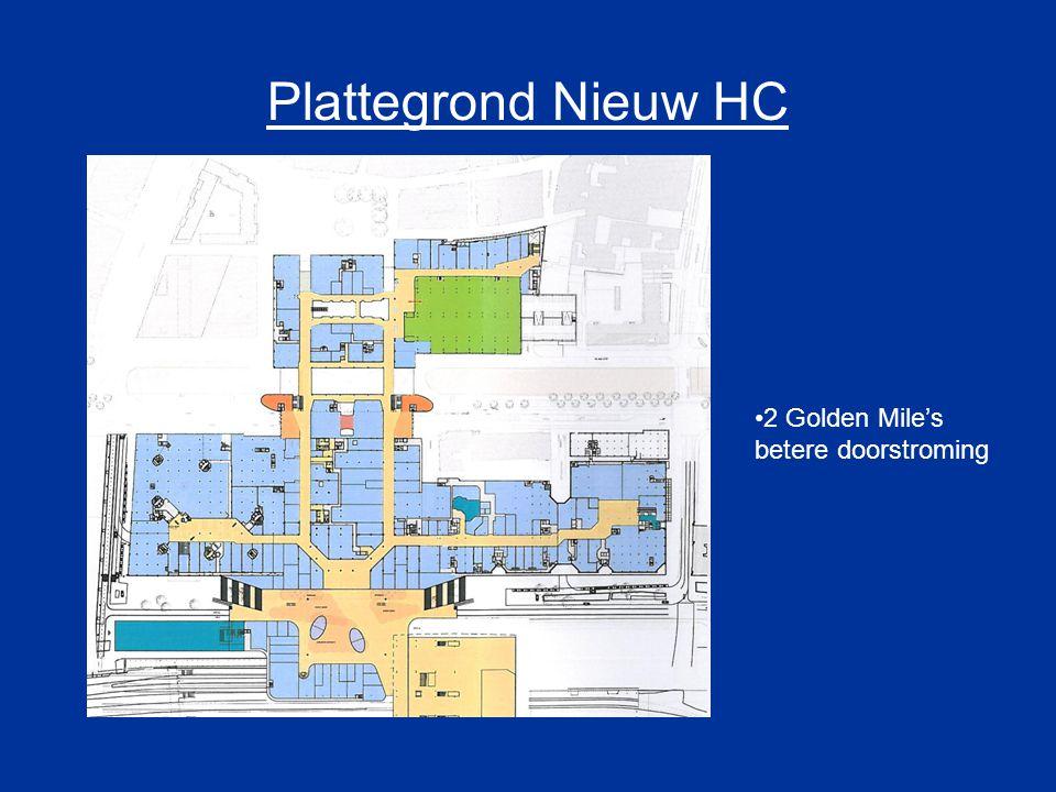 Plattegrond Nieuw HC 2 Golden Mile's betere doorstroming