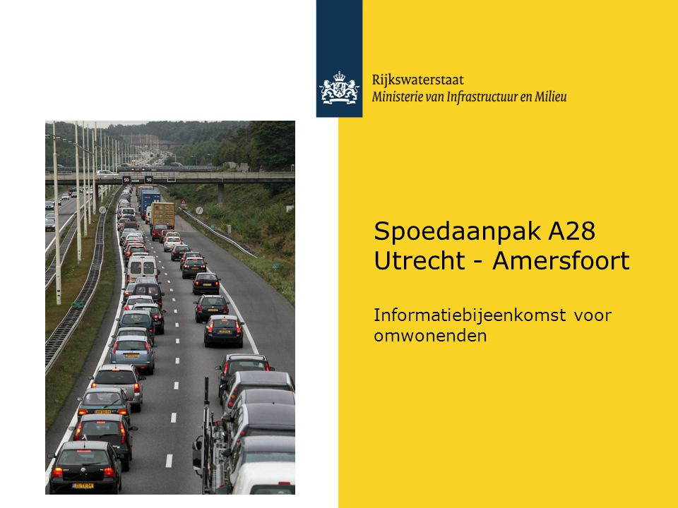 Spoedaanpak A28 Utrecht - Amersfoort