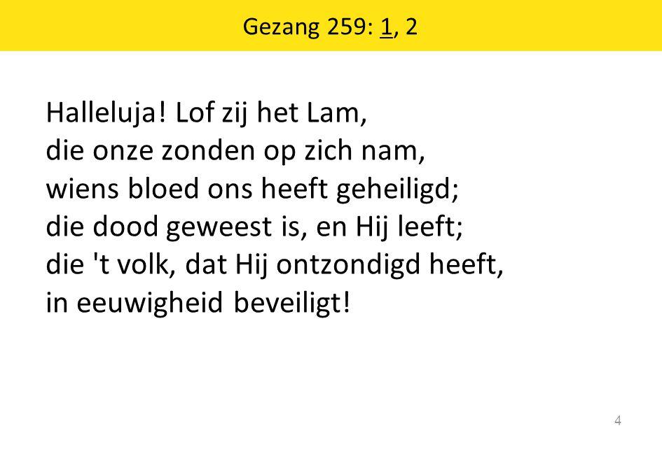 Gezang 259: 1, 2