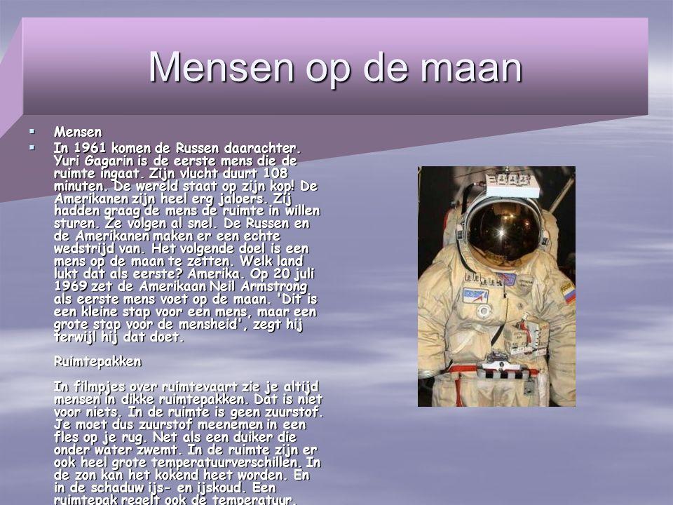 Mensen op de maan Mensen