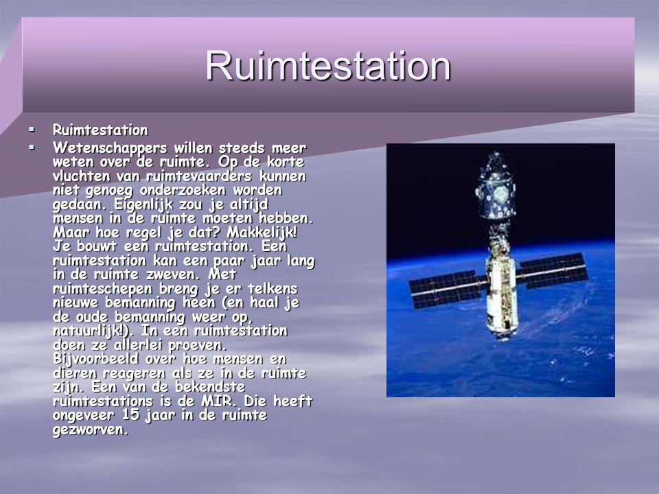 Ruimtestation Ruimtestation