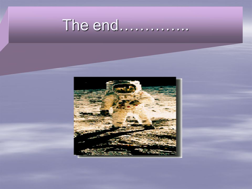 The end…………..