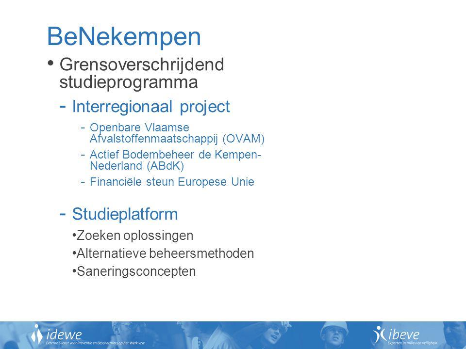 BeNekempen Grensoverschrijdend studieprogramma Interregionaal project