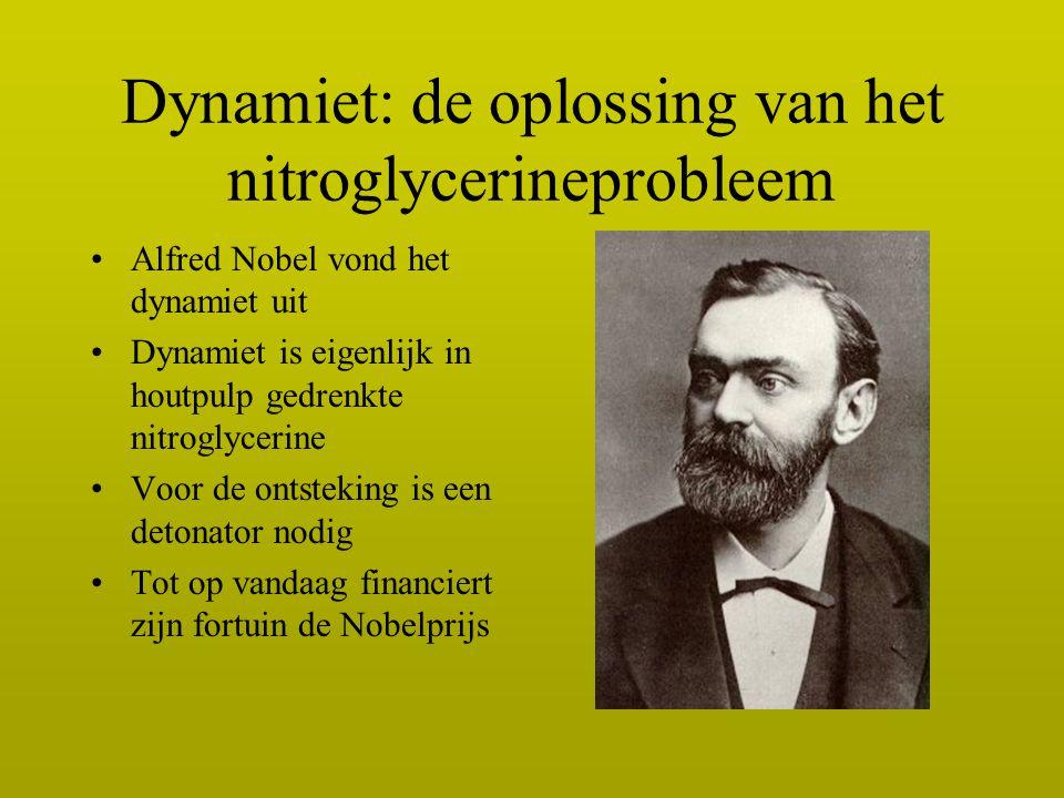 Dynamiet: de oplossing van het nitroglycerineprobleem