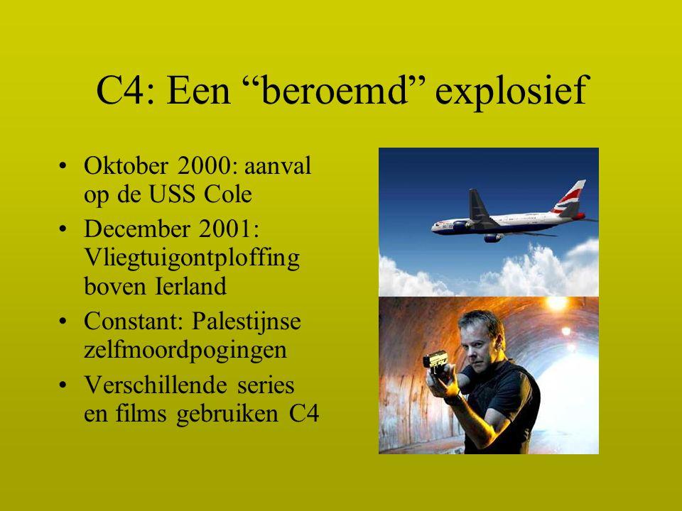 C4: Een beroemd explosief