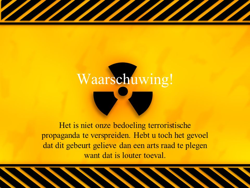Waarschuwing!