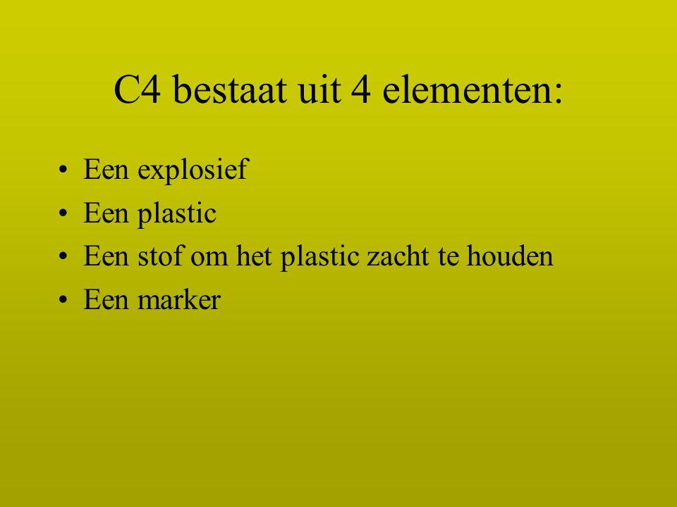 C4 bestaat uit 4 elementen: