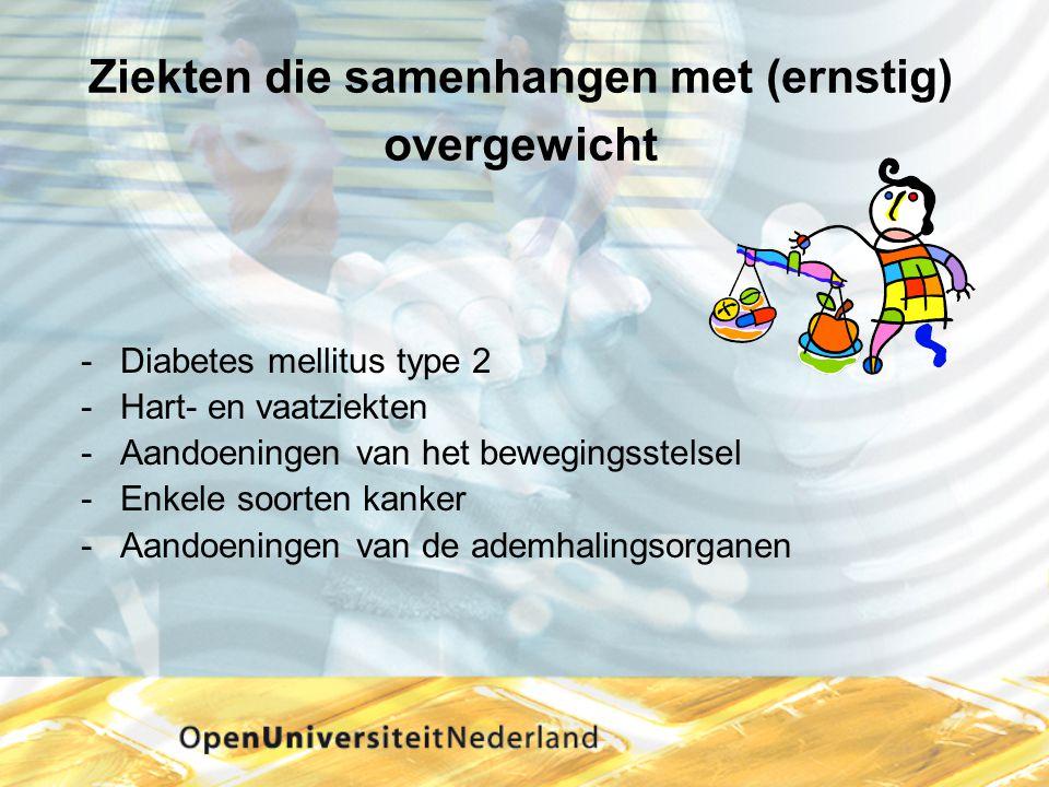 Ziekten die samenhangen met (ernstig) overgewicht