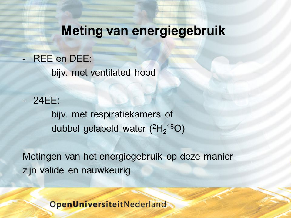 Meting van energiegebruik