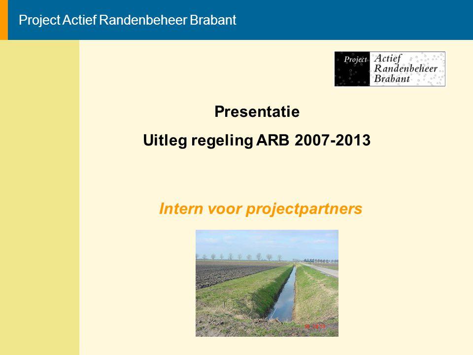 Intern voor projectpartners