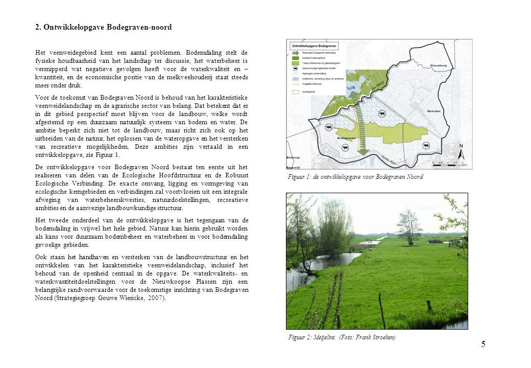 2. Ontwikkelopgave Bodegraven-noord