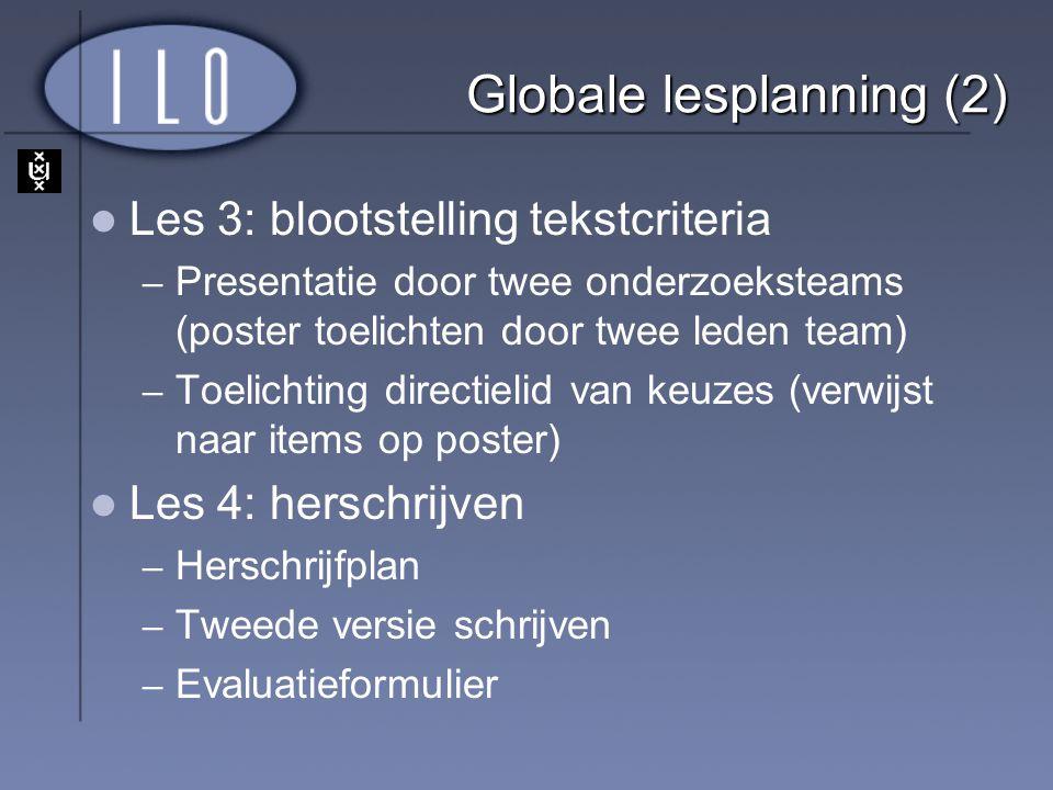 Globale lesplanning (2)
