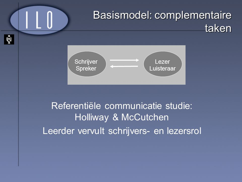 Basismodel: complementaire taken