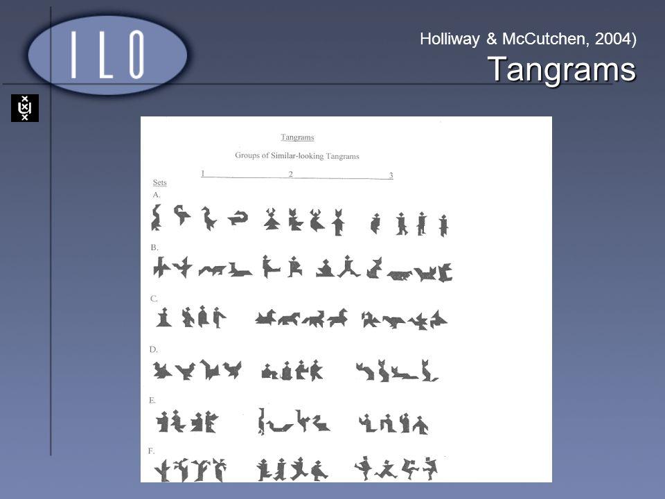 Holliway & McCutchen, 2004) Tangrams