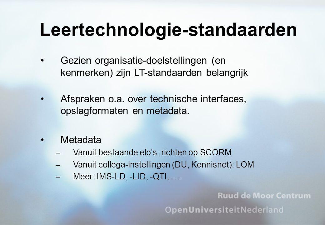 Leertechnologie-standaarden
