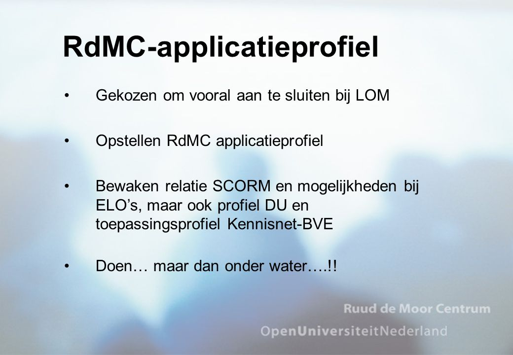 RdMC-applicatieprofiel