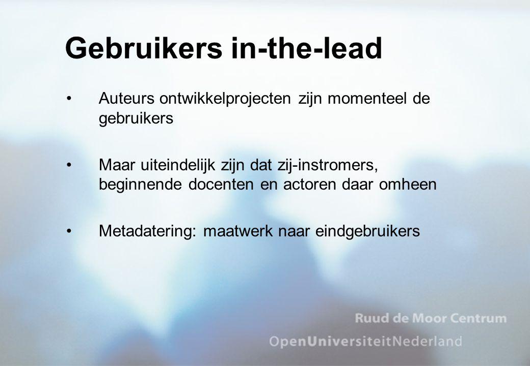 Gebruikers in-the-lead
