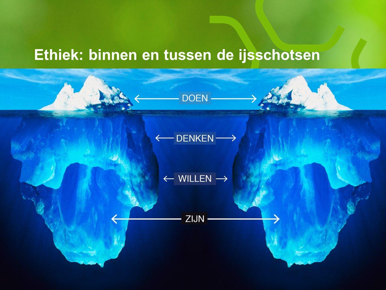 Ethiek: binnen en tussen de ijsschotsen