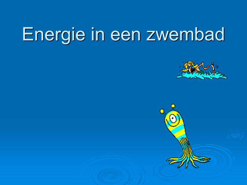 Energie in een zwembad