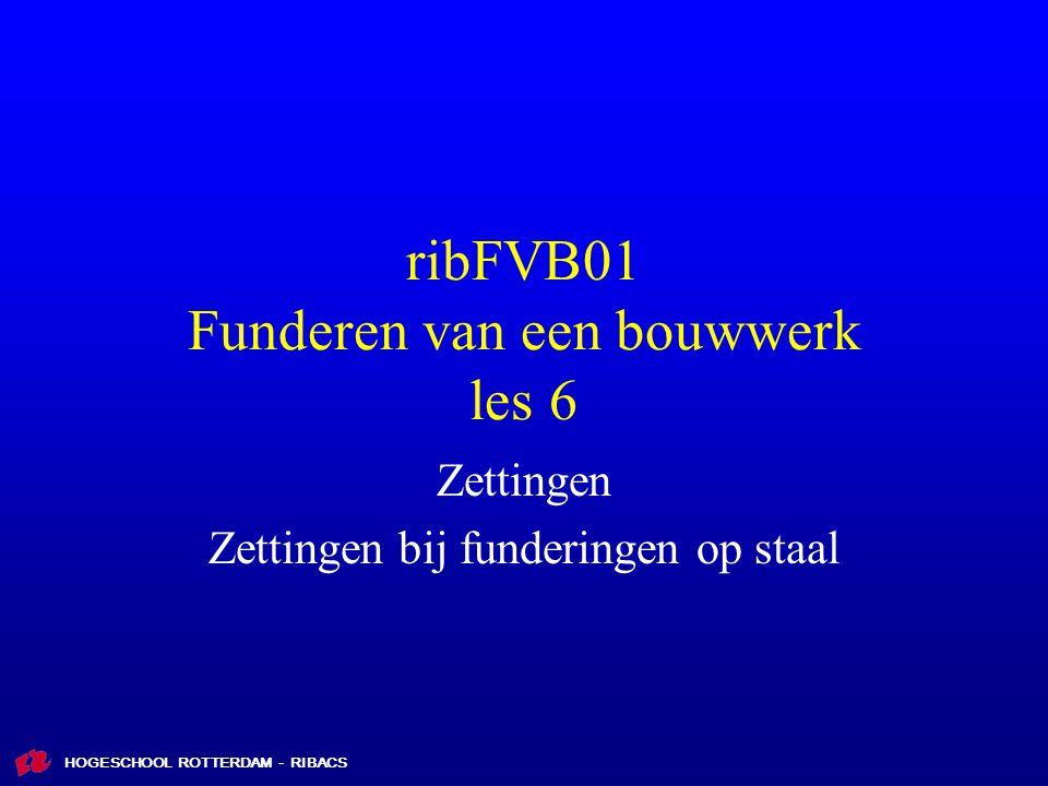 ribFVB01 Funderen van een bouwwerk les 6