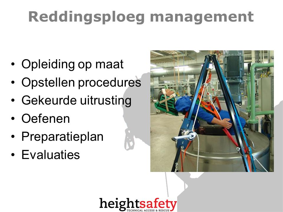 Reddingsploeg management