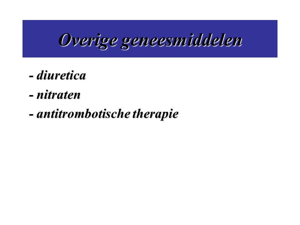 Overige geneesmiddelen